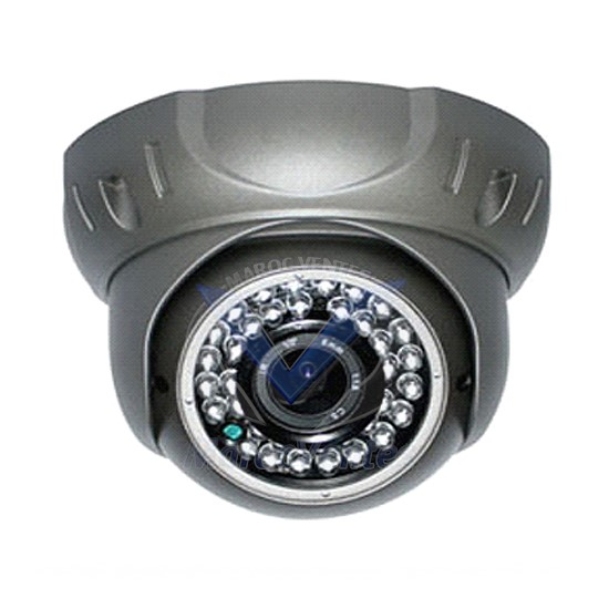 "Camera  mini dome noir IR digital- Color 1/4"" HD digital sensor,700 TV Lines,Low SE-CV342KA"